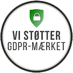 We support the GDPR label